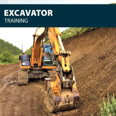 excavator training certification