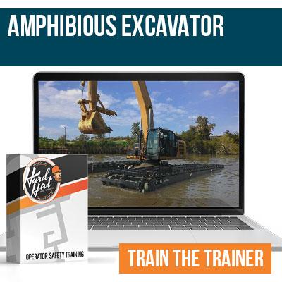 Amphibious Excavator Train the Trainer