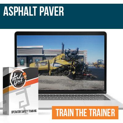Asphalt Paver Train the Trainer