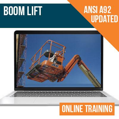 Boom lift Online Training