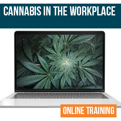 Cannabis in the Workplace Online Training