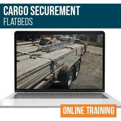 Cargo Securement for Flatbeds Online Training