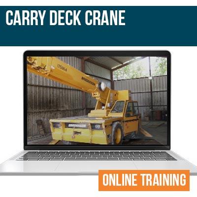 Carry Deck Crane Online Training