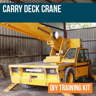 Carry Deck Crane DIY Training Kit