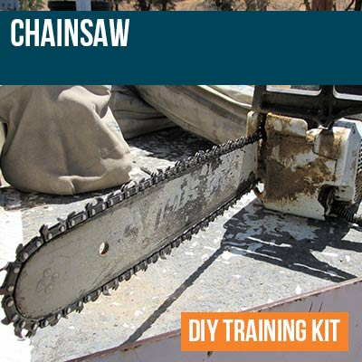 Chainsaw DIY Training Kit