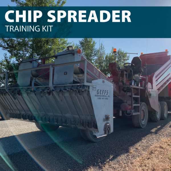 chip spreader training kit