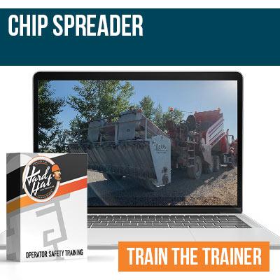 Chip Spreader Train the Trainer