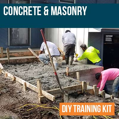 Concrete and Masonry DIY Training Kit