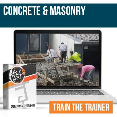 Concrete and Masonry Train the Trainer