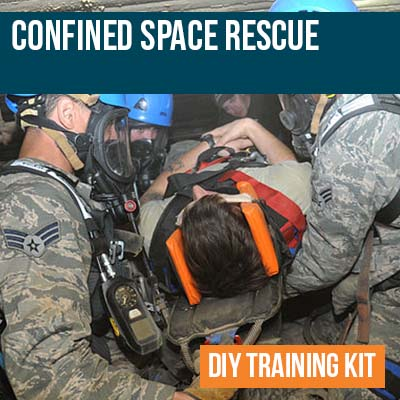 Confined Space Rescue Training Kit