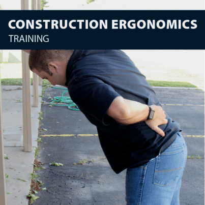 ergonomics fo construction safety training certification