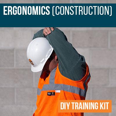 Construction Ergonomics DIY Training Kit