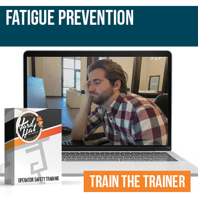 Fatigue Prevention Online trainer Certification