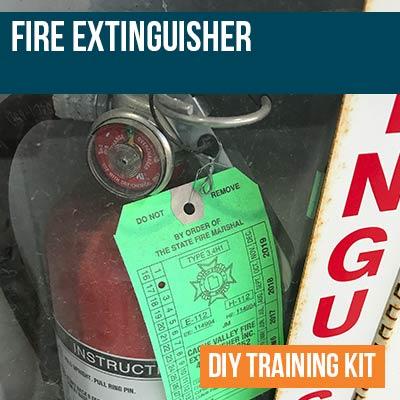 Fire Extinguisher DIY Training Kit