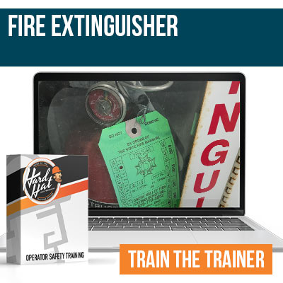 Fire Extinguisher Train the Trainer