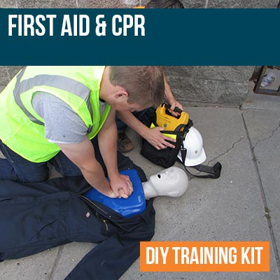 First Aid and CPR DIY Training Kit