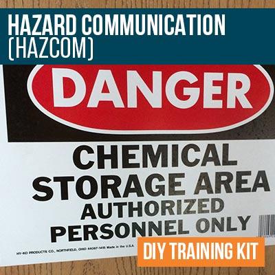 HazCom/WHMIS DIY Training Kit