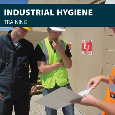 Industrial Hygiene safety training certification