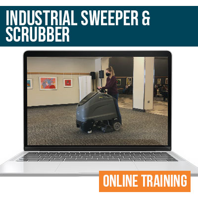 Industrial Scrubber Sweeper Online Safety Training