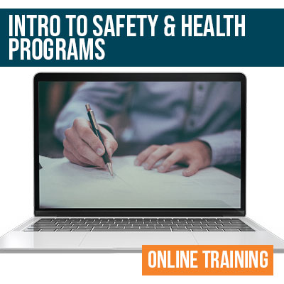 Intro to Health and Safety Program Online Training