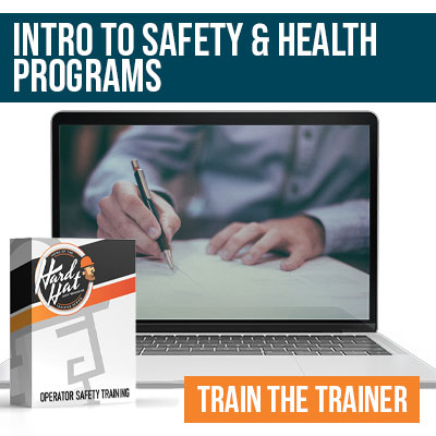 Intro To Health and Safety Program Writing Train the Trainer