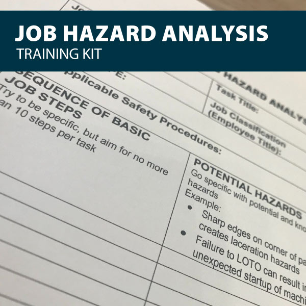 Job Hazard Analysis Training Kit