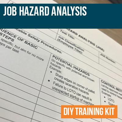 Job Hazard Analysis DIY Training Kit