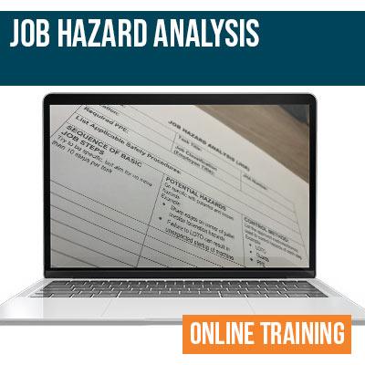 Job Hazard Analysis Online Training