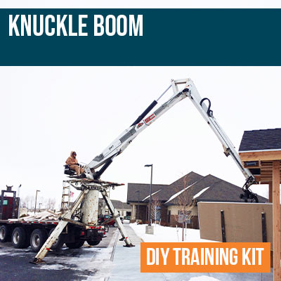 Knuckle Boom DIY Training Kit