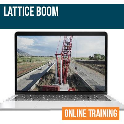 Lattice Boom Online Safety Training