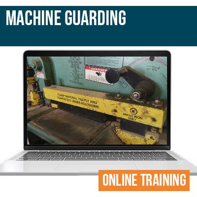 Machine Guarding Online Safety Training