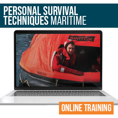 Maritime Personal Survival Techniques Online Safety Training