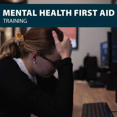 mental health first aid safety training certification