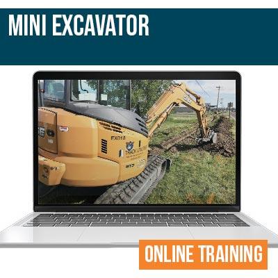Mini Excavator Online Safety Training
