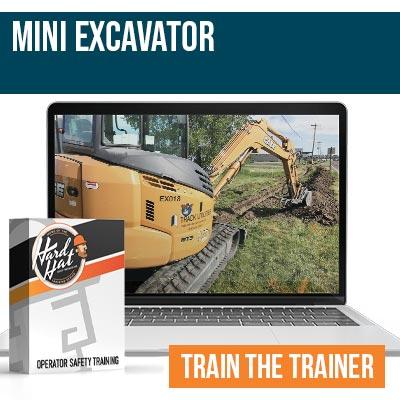 Mini Excavator Train the Trainer