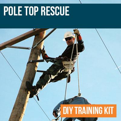 Pole Top Rescue DIY Training Kit