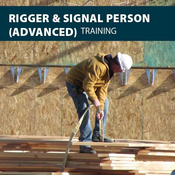 canada advanced rigger signaler training certification