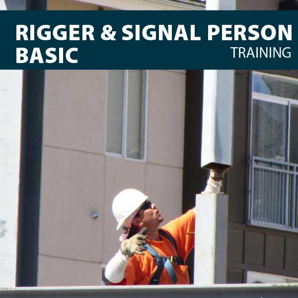 Rigger/Signaler basic training certification