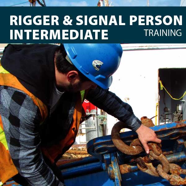 Rigger/Signaler intermediate training certification