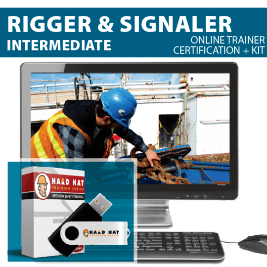 Intermediate Rigger and Signal Person Train the Trainer Certification