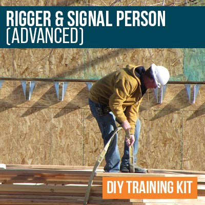 Rigger and Signal Person Advanced DIY Training Kit