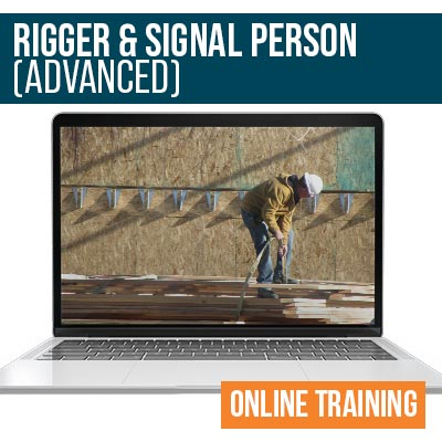 Rigger and Signalman Advanced Online Safety Training