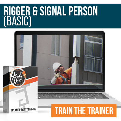 Rigger and Signal Person Basic Train the Trainer