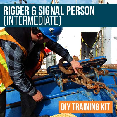 Rigger and Signal Person Intermediate DIY Training Kit
