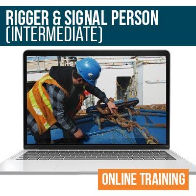 Rigger Signalman Intermediate Online Safety Training