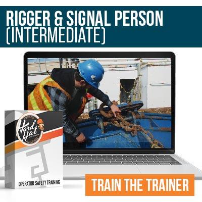 Rigger and Signal Person Intermediate Train the Trainer