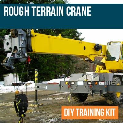 Rough Terrain Crane DIY Training Kit
