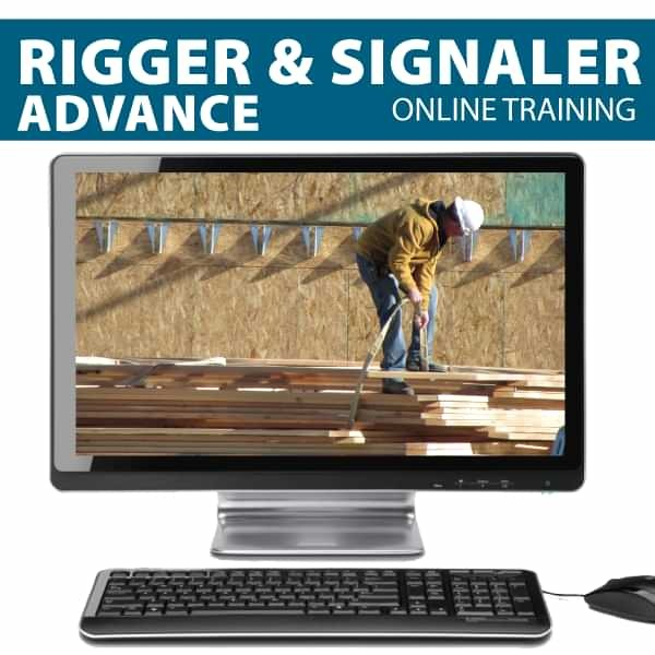 Online Advanced Rigger Training