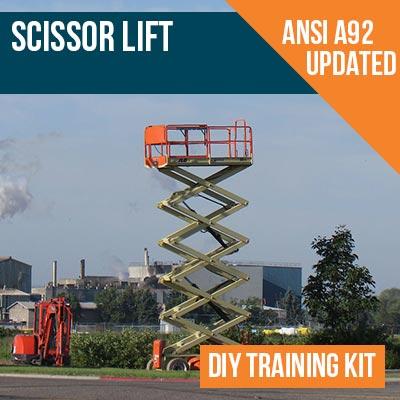 Scissor Lift Safety DIY Training Kit