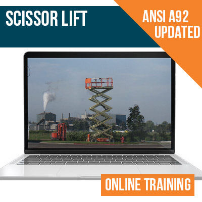 Scissor Lift Online Safety Training
